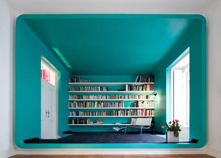 En una casa llena de color / In a colorfulhouse