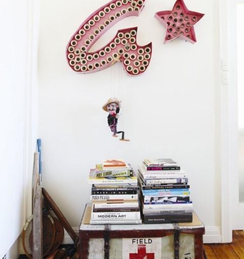 En una casa de artistas deMelbourne