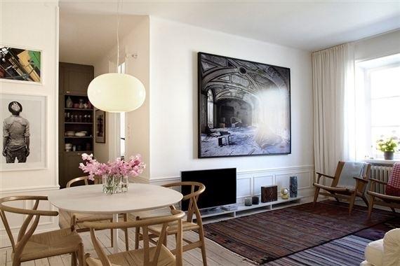 En una preciosa casa sueca / In a beautiful swedishhouse