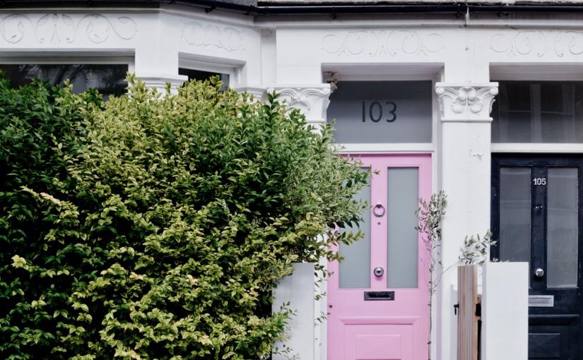 La casa de la puerta rosa / The pink doorhouse