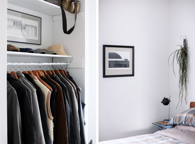 armario abierto / open closet