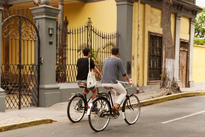 en bici por Lima / a bike ride