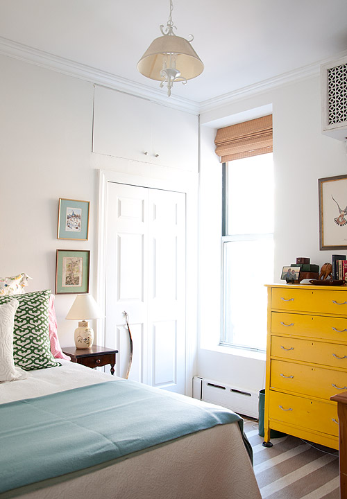 Colores alegres en el dormitorio / Birght colors in the bedroom