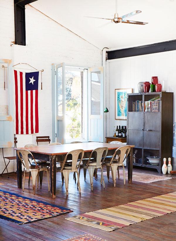 comedor de estilo industrial / industrial style dining room