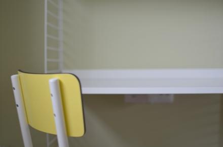 Detalle de la silla de Les Gambettes