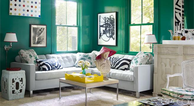 estar turquesa / turquoise living room