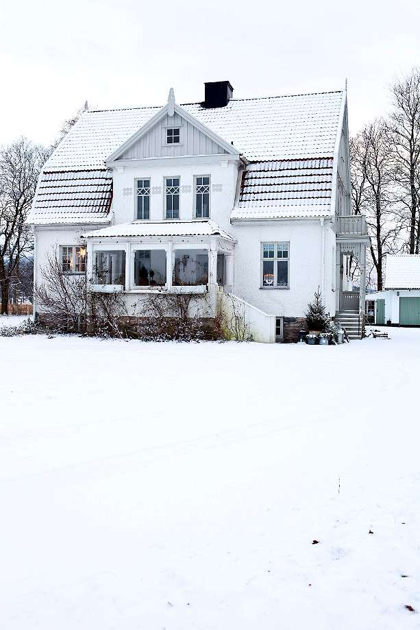 Exterior de la casa.