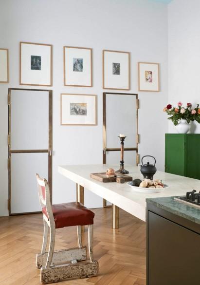 Detalles en la cocina color cobre, una de las últimas tendencias.
