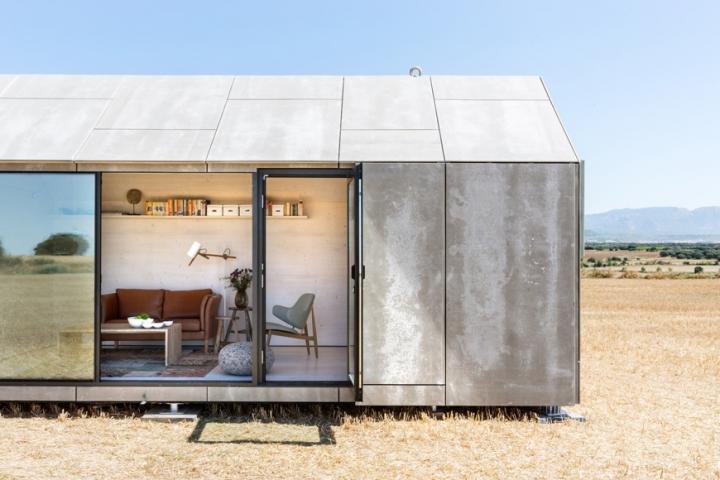 Una casa transportable