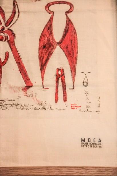 Dibujo de Louis Burgeois