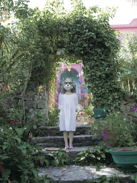Entrada del jardín