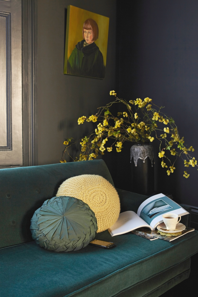 Verde, amarillo, preciosa composición.